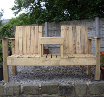Garden Seating with table