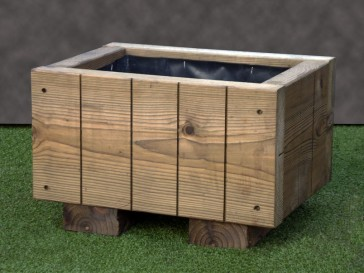 Rustic Wooden Planter 420