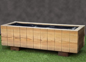 Rustic Wooden Planter 840