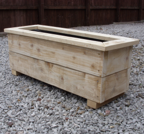 Horizontal Large Planter