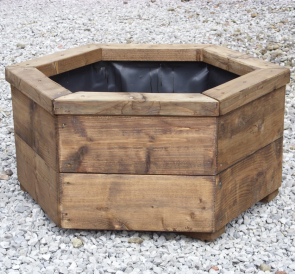 Large Hexagonal Planter